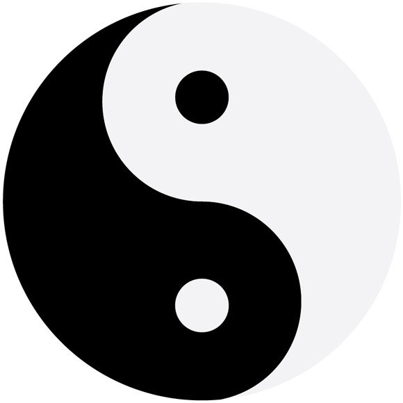 Drawn sykol yin yang Jennifer draw Bortonia © a