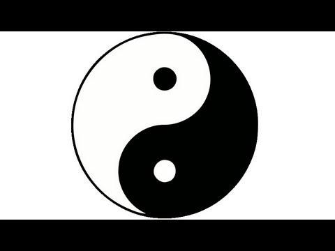 Drawn sykol yin yang Symbol to yin yang yin