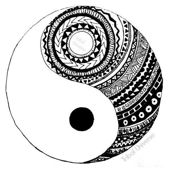 Drawn sykol yin yang Yin yin Google con yang