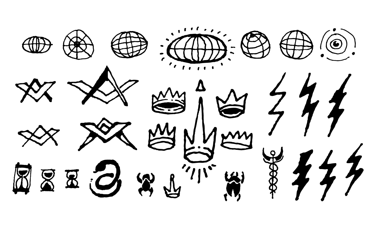 Drawn symbol little  Symbols Drawn