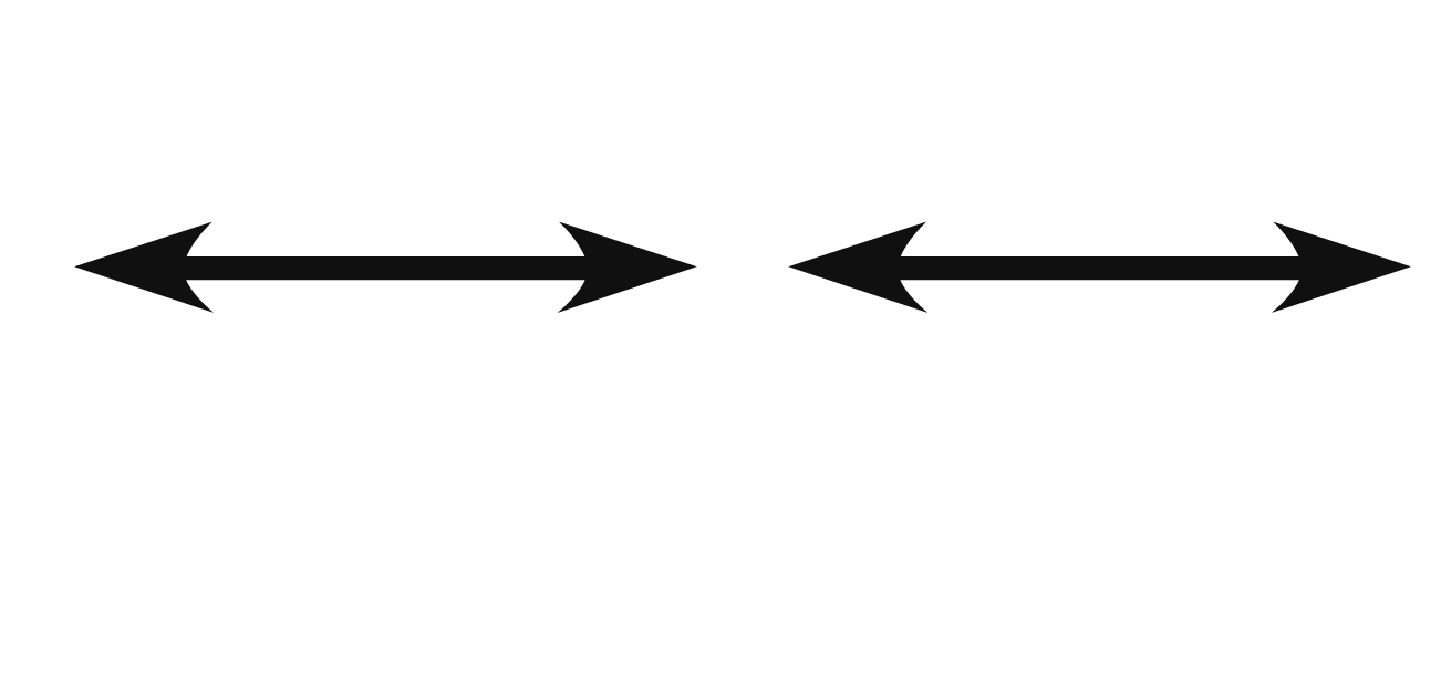 Drawn symbol double sided arrow To sided create Illustrator: arrows
