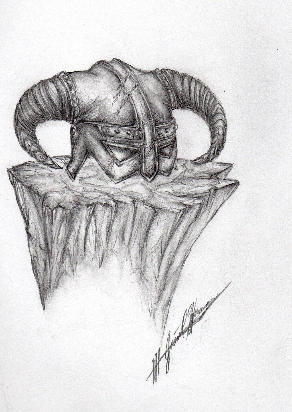 Drawn symbol Dovahkiin josiahherman josiahherman josiahherman on