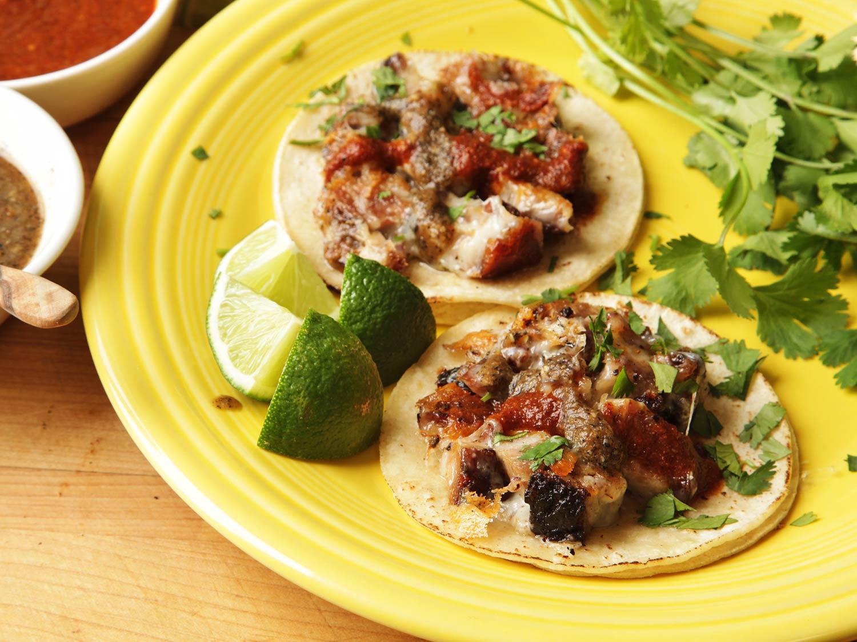 Drawn tacos messy Cheesy Flavor de tacos Crispy