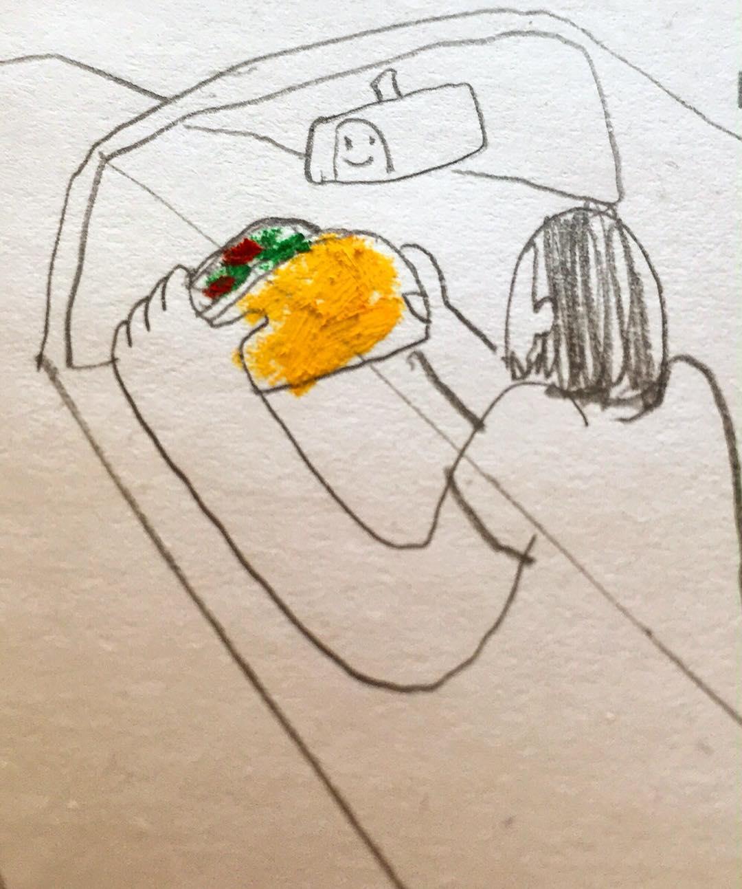 Drawn taco @munkochoe hardshell steering wheel taco