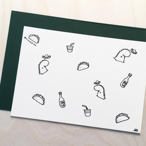 Drawn taco large Cheat Illustration Dino Store Tinee