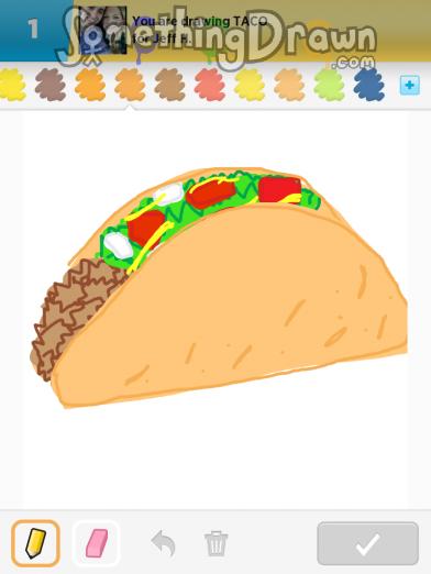 Drawn taco large Com by Something TACO SomethingDrawn