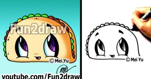 Drawn taco large Drawings to a Draw Draw