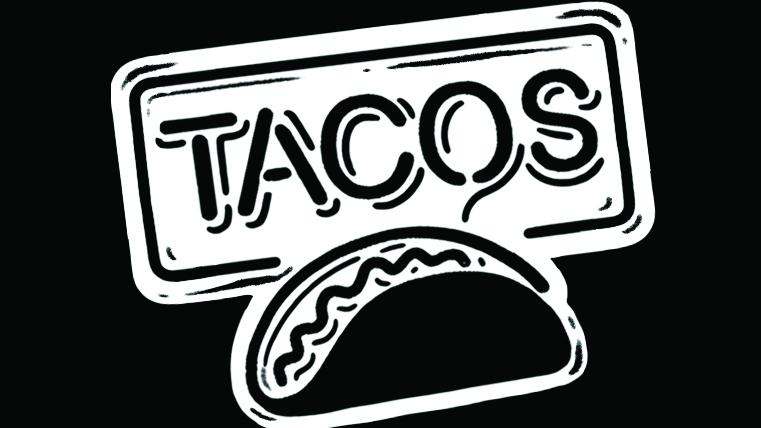 Drawn tacos messy The to Taco Austin Tacos: