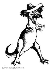 Drawn taco tex mex Hot Rex tuesday Mex Tuesday