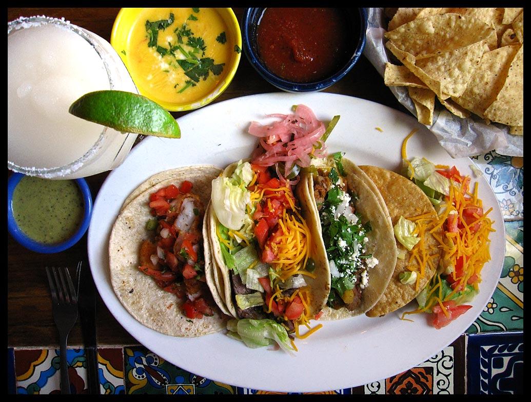 Drawn taco tex mex Some rich Mex Tacos: poblanos