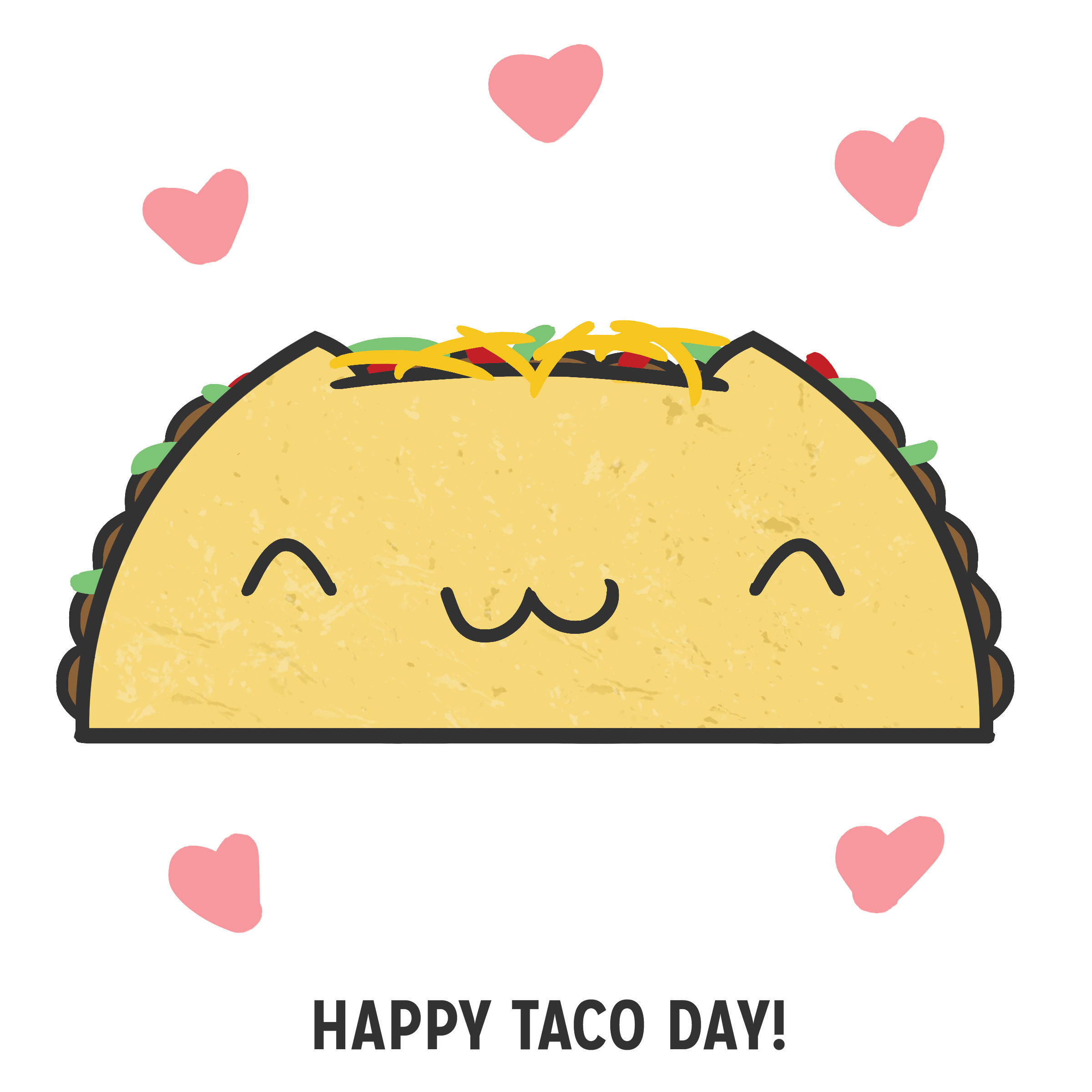 Drawn tacos Taco day! to draw Pinterest