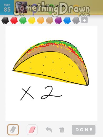 Drawn taco large Com by Something TACOS SomethingDrawn