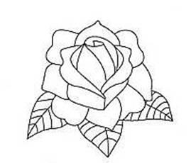 Drawn tattoo rose #11