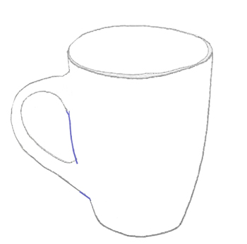 Drawn tea cup 5 by Draw a Tea