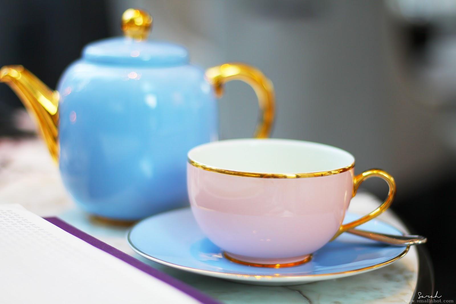Drawn teacup afternoon tea #14