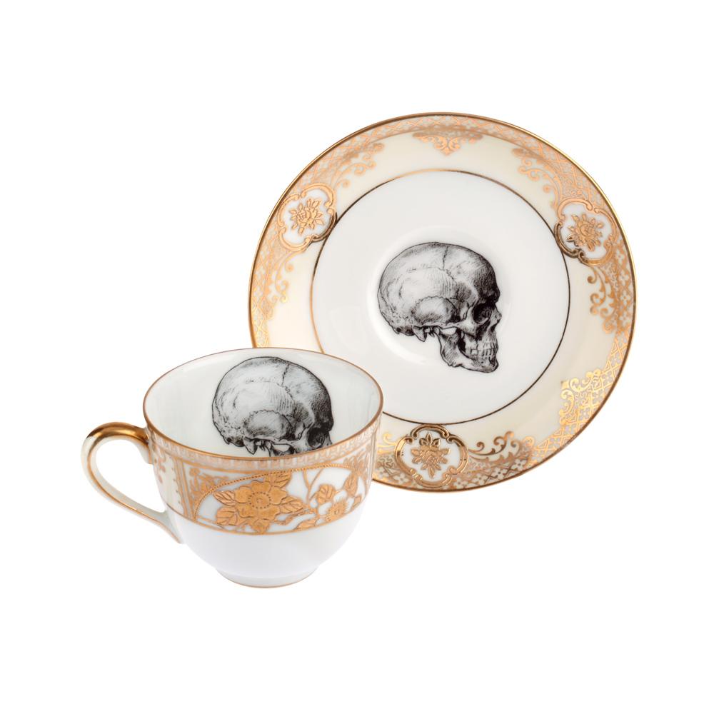 Drawn teacup crockery #7