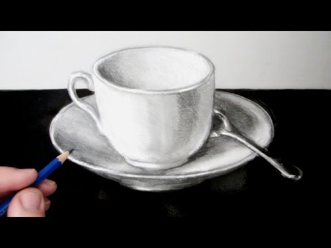 Drawn teacup cup saucer Cup to Draw a and