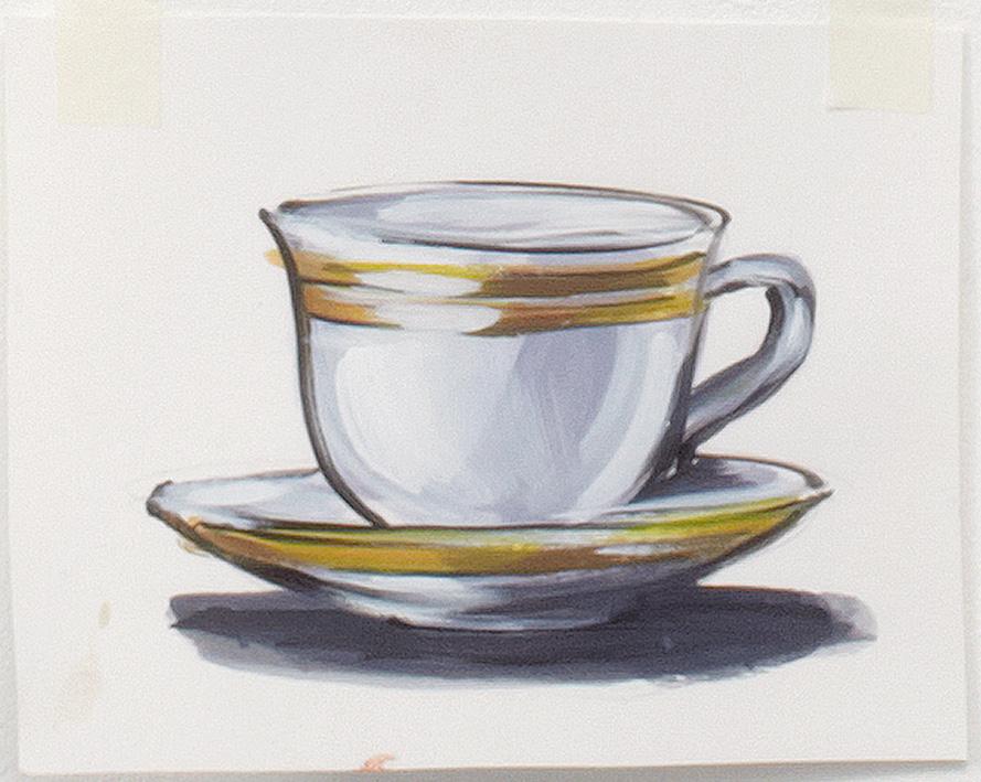 Drawn teacup cup saucer Shop image Tea Lisa View