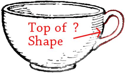Drawn teacup tea mug #6