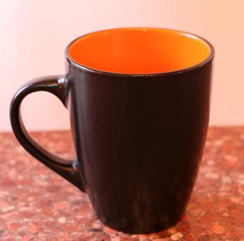 Drawn teacup tea mug #13