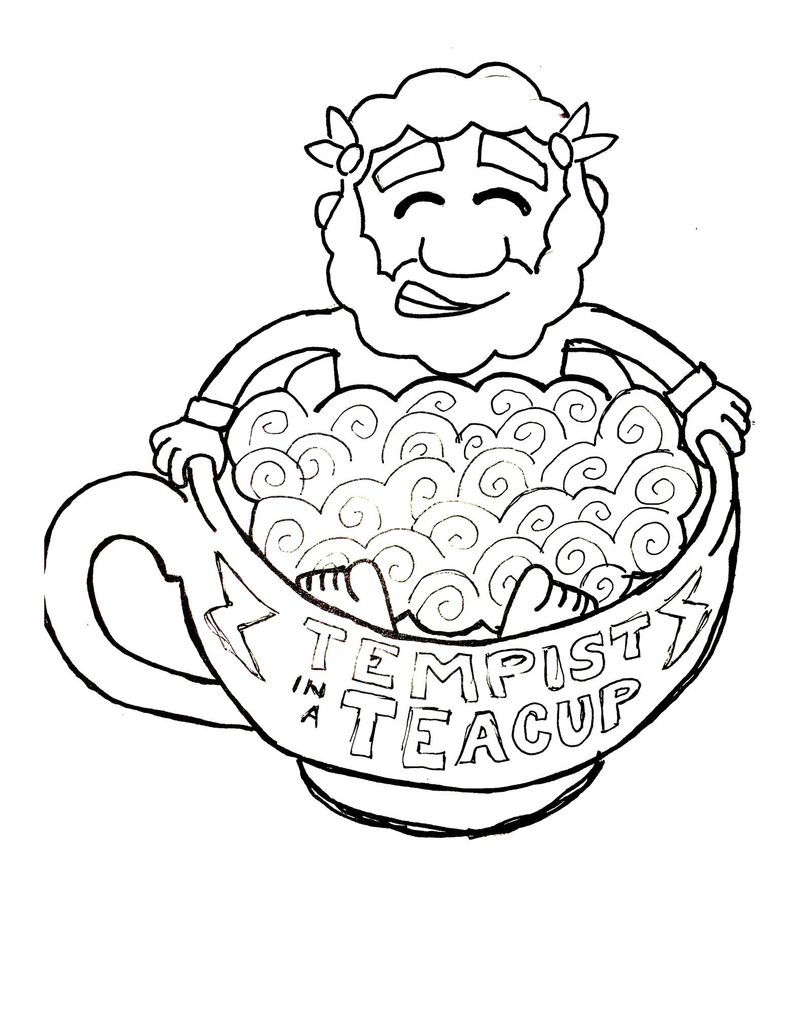 Drawn teacup tempest in #13