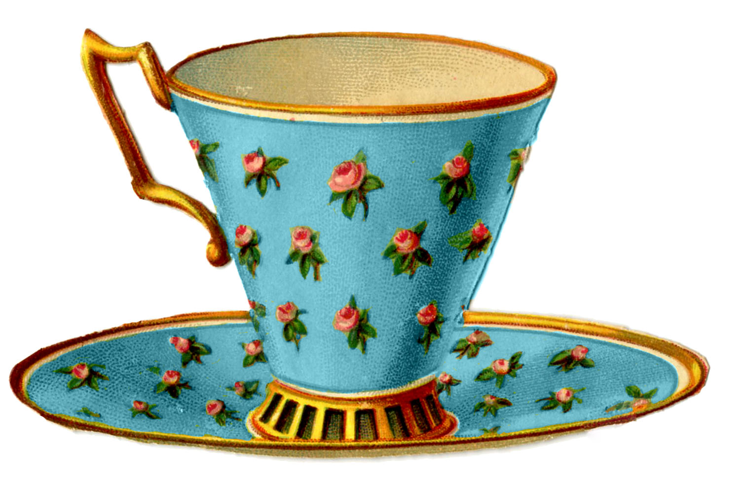 Tea Cup clipart drawn The The with 3 Fairy