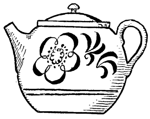 Drawn teapot How Easy Step Simple to