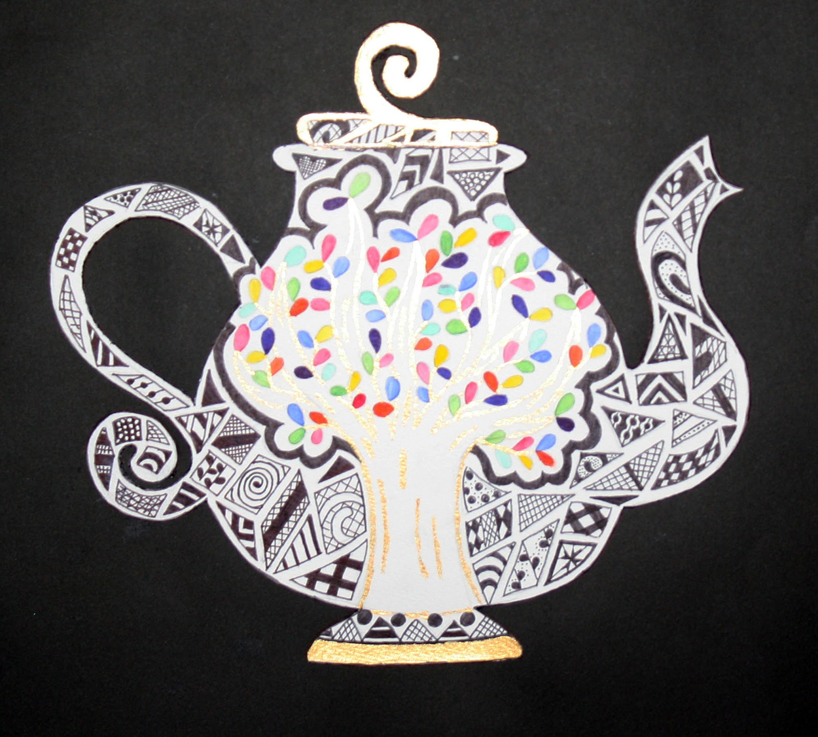 Drawn alice in wonderland wonderlan Paintings bell and cup smith: