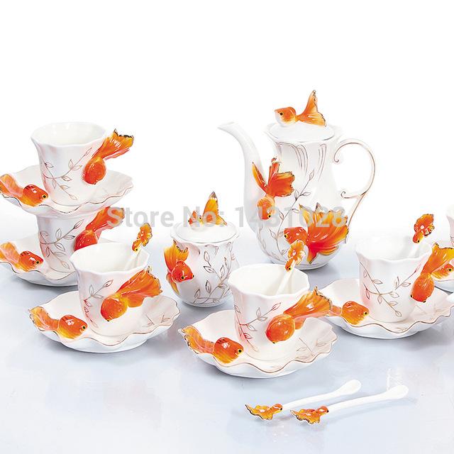 Drawn teapot porcelain Drawing enamel coffee creative 21