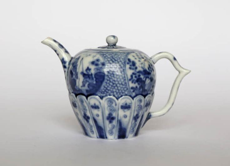 Drawn teapot porcelain Images and and cover; Teapot