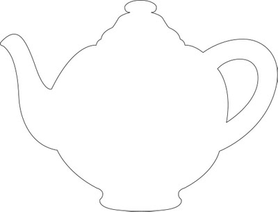 Templates  clipart teapot Kettle or Teapot 4 clipart