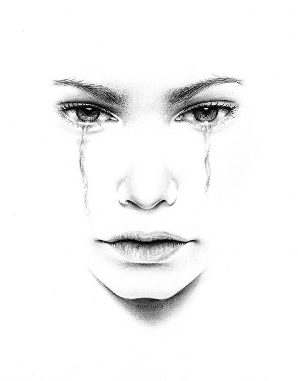 Drawn tears By by Lorelai82 DeviantArt TEARS: