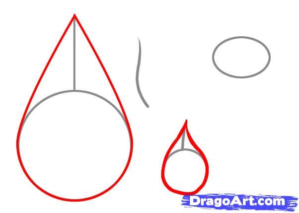 Drawn tears Drawing People Tears step to