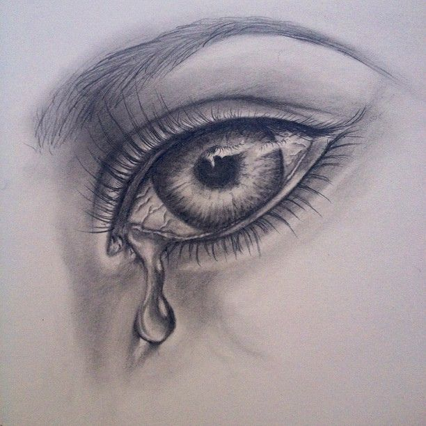 Drawn tears Realistic Pic Art Drawing Images
