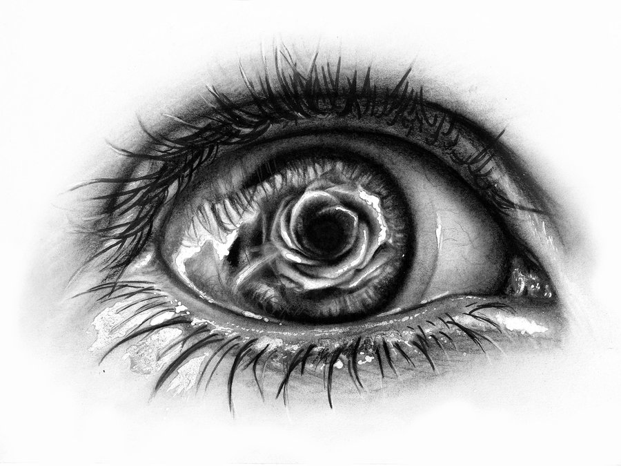 Drawn tears DeviantArt pencil by of AtomiccircuS