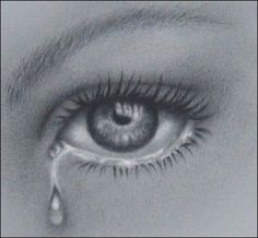 Drawn tears Inspiration #art Crying detail with