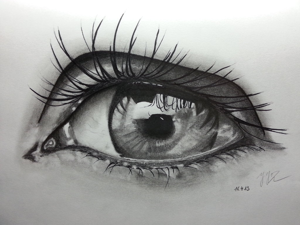 Drawn tears deviantart By com Pencil on ~