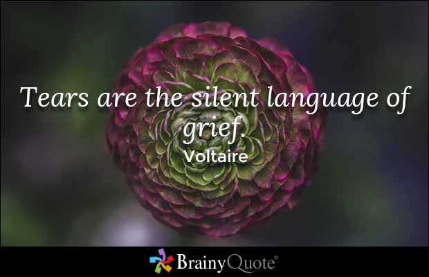 Drawn tears grief Tears language Quotes Voltaire Tears