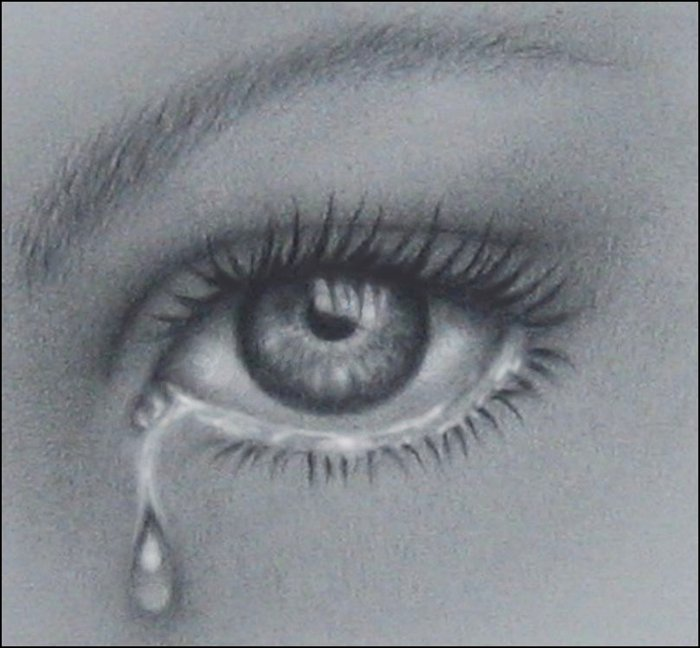 Drawn tears sad eye Search crying crying Pinterest of