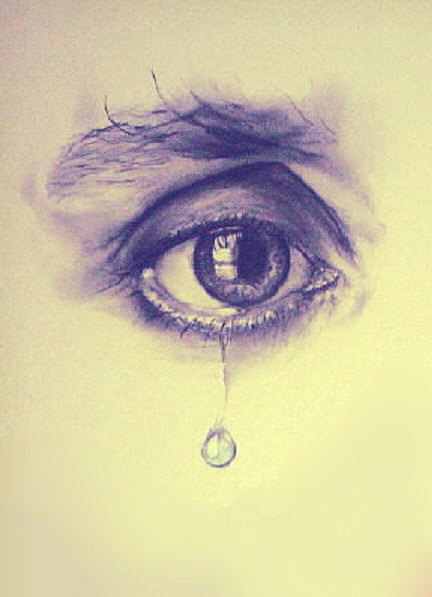 Drawn tears teardrop Dude Teardrop Drawing Teardrop on