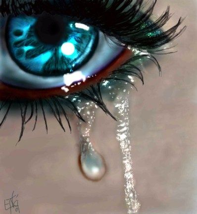 Drawn tears teary eyed TEARS OF best 302 Pinterest