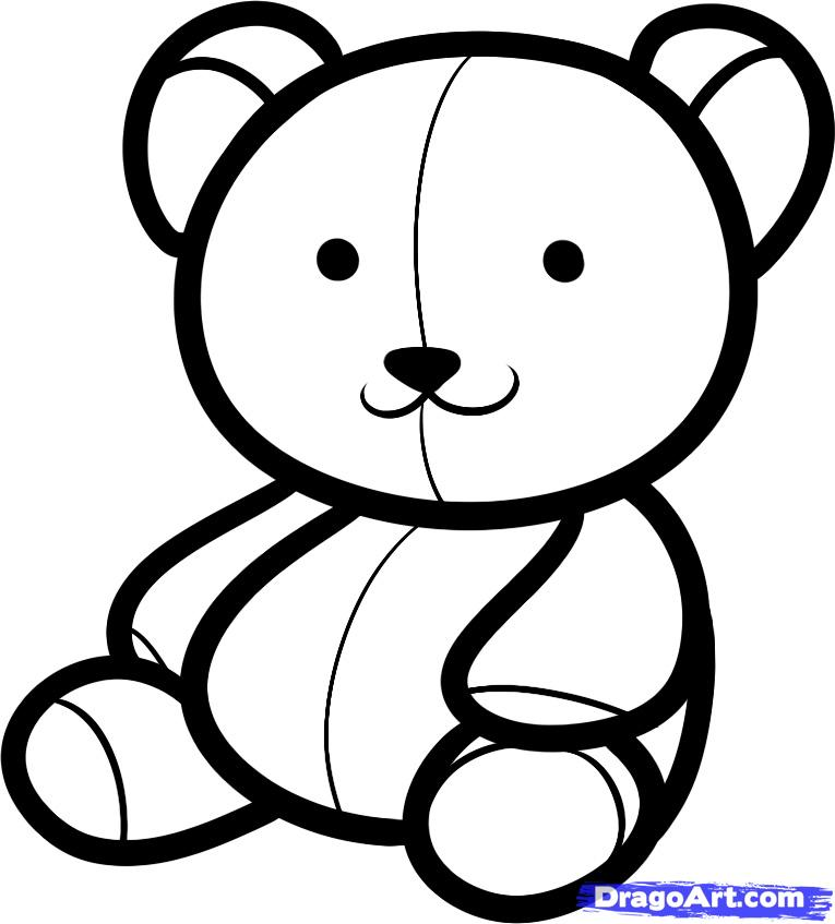 Drawn teddy bear For Kids by Free How