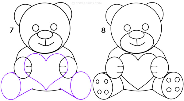 Drawn teddy bear Teddy 4 To Pictures) How