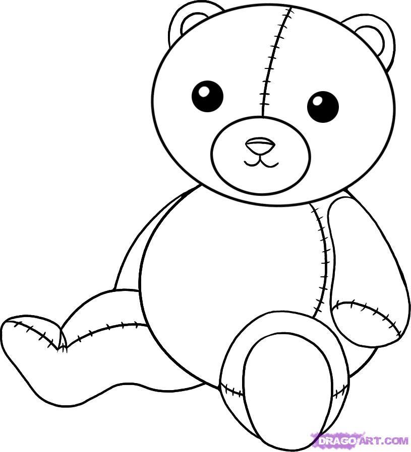 Drawn teddy bear Teddy 5 to Stuff how
