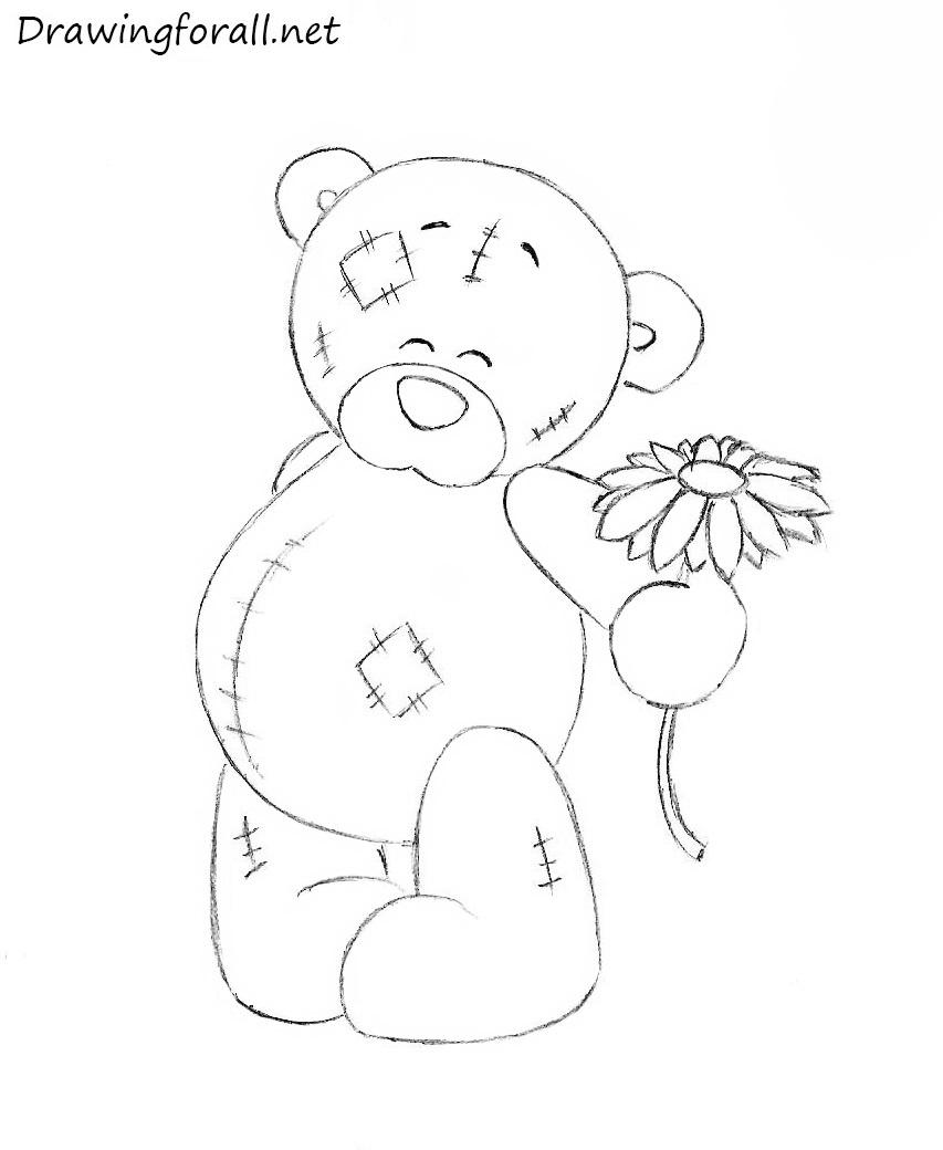 Drawn teddy bear Teddy DrawingForAll teddy to How