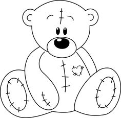 Drawn teddy bear Bear and dessin bear Teddy