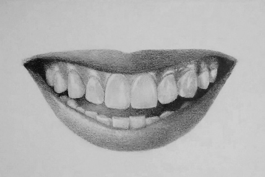 Drawn teeth How to teeth how –