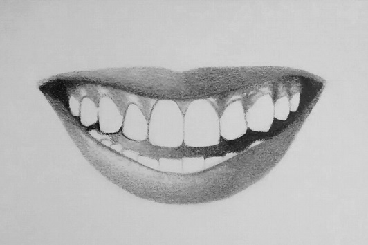 Drawn teeth human Teeth How step draw teeth