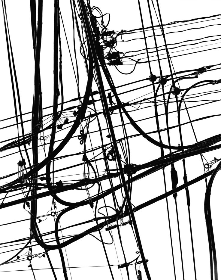 Drawn power line telephone wire Line telephone Pinterest on lines