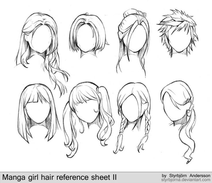 Drawn long hair straight  Learning Google Search template